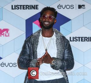 Tinie Tempah in the press room at the 2016 MTV Europe Music Awards (EMAs) held at the Ahoy Rotterdam, Netherlands...