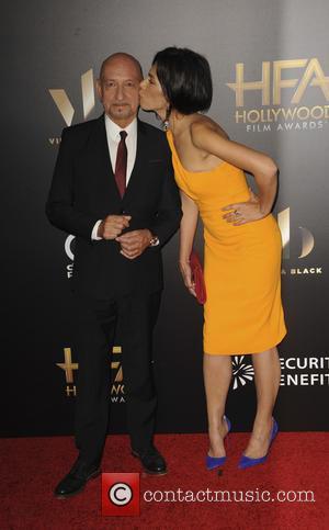 Sir Ben Kingsley and Daniela Lavende