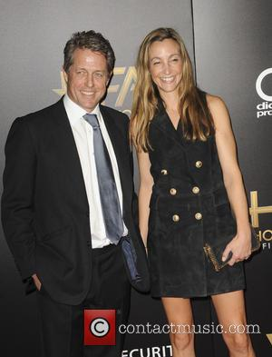 Hugh Grant and Anna Elisabet Eber at the 20th Annual Hollywood Film Awards - Los Angeles, California, United States -...