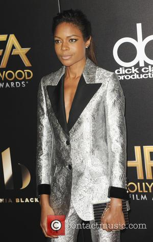 Naomi Harris at the 20th Annual Hollywood Film Awards - Los Angeles, California, United States - Monday 7th November 2016