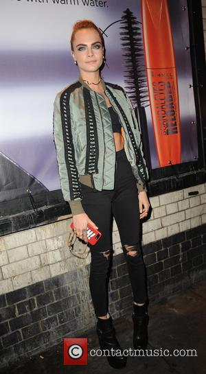 Cara Delevingne celebrates becoming Rimmel's new brand ambassador for their new Scandaleyes Reloaded Mascara. Cara hosted an exclusive party in...