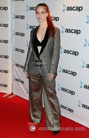 Jess Glynne seen on the red carpet for the ASCAP Awards held at One Embankment, London, United Kingdom - Thursday...