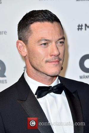 Luke Evans at the 2016 GQ Men of the year award ceremony held at Komische Oper in Mitte, Berlin, Germany...