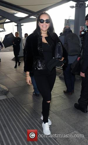 Rita Ora and her sister Elena arrive at Heathrow Airport to fly out, having only spent 24hrs in the country....