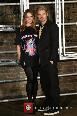 Stella Mccartney and Orlando Bloom