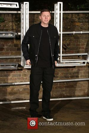 Professor Green at the showcase for Stella McCartney's 2017 menswear line held at Abbey Road Studios, London, United Kingdom -...