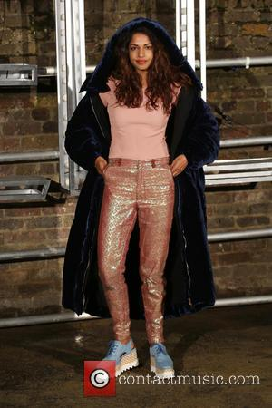 M.I.A at the showcase for Stella McCartney's 2017 menswear line held at Abbey Road Studios, London, United Kingdom - Thursday...