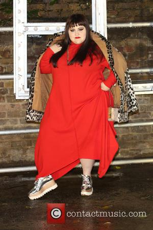 Beth Ditto at the showcase for Stella McCartney's 2017 menswear line held at Abbey Road Studios, London, United Kingdom -...