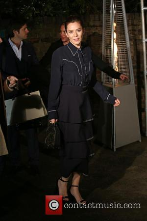 Anna Friel at the showcase for Stella McCartney's 2017 menswear line held at Abbey Road Studios, London, United Kingdom -...