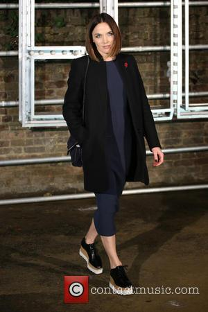 Victoria Pendleton at the showcase for Stella McCartney's 2017 menswear line held at Abbey Road Studios, London, United Kingdom -...