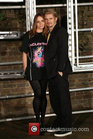 Stella Mccartney and Orlando Bloom