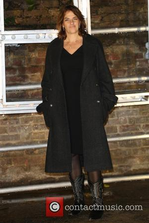 Tracey Emin at the showcase for Stella McCartney's 2017 menswear line held at Abbey Road Studios, London, United Kingdom -...