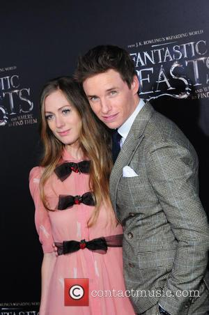 Eddie Redmayne seen alone and with Hannah Bagshawe attending the World Premiere of 'Fantastic Beasts and Where To Find Them',...