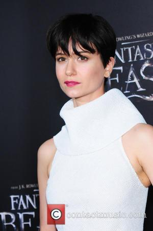 Katherine Waterston attending the World Premiere of 'Fantastic Beasts and Where To Find Them', held at Alice Tully Hall in...