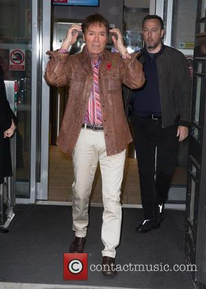 Sir Cliff Richard pictured arriving at Radio 2 studio at BBC Portland Place - London, United Kingdom - Friday 11th...