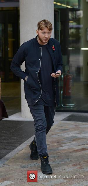 James Arthur leaves the BBC Studio at Media City UK after appearing on the BBC Breakfast show - Manchester, United...
