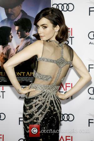 Lily Collins at the AFI Festival opening night premiere of Warren Beatty's new movie Rules Don't Apply - Los Angeles,...