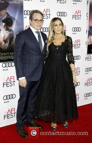 Matthew Broderick and Sarah Jessica Parker at the AFI Festival opening night premiere of Warren Beatty's new movie Rules Don't...