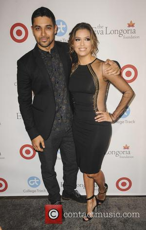 Wilmer Valderrama seen alone and with Eva Longoria at a Dinner for Eva's foundation - Los Angeles, California, United States...