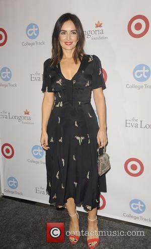 Ana de la Reguera at the Eva Longoria Foundation Dinner - Los Angeles, California, United States - Friday 11th November...