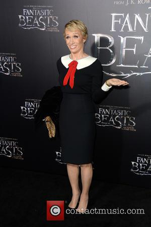 Barbara Corcoran attends the World Premiere of 'Fantastic Beasts and Where To Find Them', held at Alice Tully Hall in...