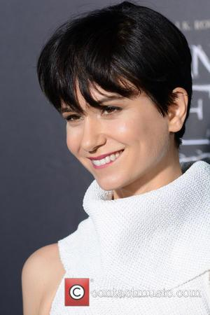 Katherine Waterston attends the World Premiere of 'Fantastic Beasts and Where To Find Them', held at Alice Tully Hall in...