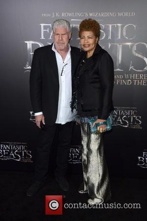 Ron Perlman attending the World Premiere of 'Fantastic Beasts and Where To Find Them', held at Alice Tully Hall in...