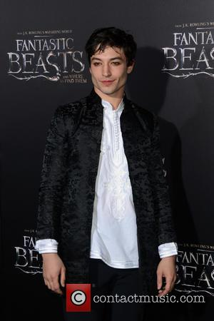 Ezra Miller attending the World Premiere of 'Fantastic Beasts and Where To Find Them', held at Alice Tully Hall in...