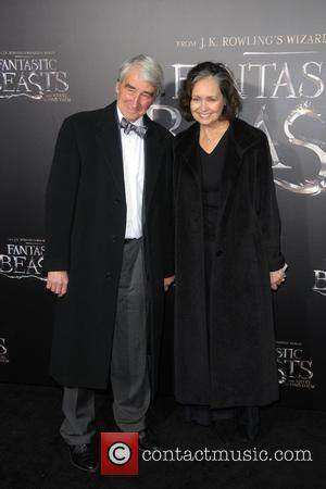 Sam Waterston and Lynn Louisa Woodruff attending the World Premiere of 'Fantastic Beasts and Where To Find Them', held at...