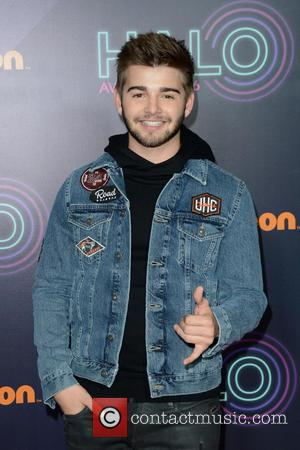Jack Griffo seen on the red carpet at the 2016 Nickelodeon Halo Awards held at Pier 36, New York, United...