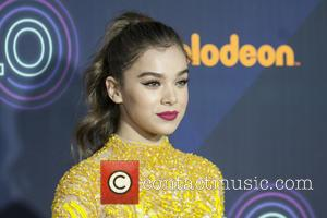 Hailee Steinfeld seen on the red carpet at the 2016 Nickelodeon Halo Awards held at Pier 36, New York, United...