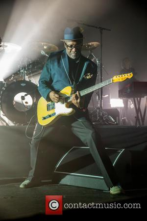 Terry Hall and the rest of The Specials perform in concert at Cambridge Corn Exchange - Cambridge, United Kingdom -...