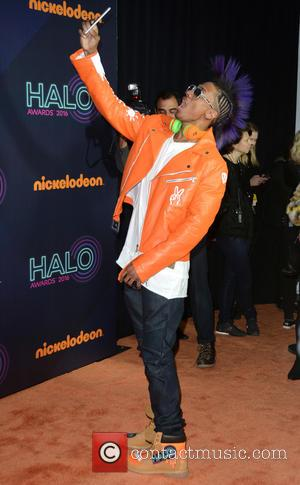 Nick Cannon seen on the red carpet at the 2016 Nickelodeon Halo Awards held at Pier 36, New York, United...