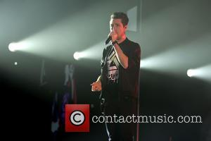 Dan Smith and the rest of Bastille perform at the SSE Hydro. The band are touring their new album 'Wild...