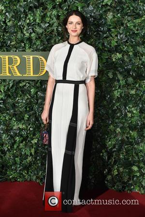 Caitriona Balfe seen arriving at the 2016 Evening Standard Theatre Awards held at the Old Vic -  London, United...