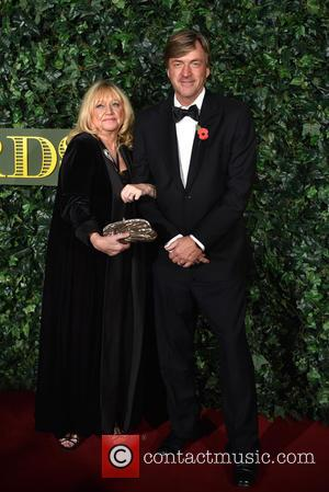 Richard Madeley and Judy Finnigan seen arriving at the 2016 Evening Standard Theatre Awards held at the Old Vic -...