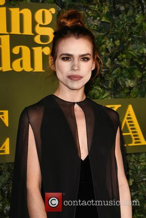 Billie Piper seen attending the 2016 London Evening Standard Theatre Awards held at the Old Vic Theatre - London, United...