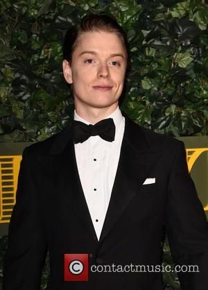 Freddie Fox seen attending the 2016 London Evening Standard Theatre Awards held at the Old Vic Theatre - London, United...
