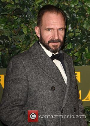 Ralph Fiennes seen attending the 2016 London Evening Standard Theatre Awards held at the Old Vic Theatre - London, United...