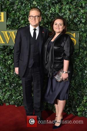 Kenneth Branagh and Lindsay Brunnock attending the 2016 London Evening Standard Theatre Awards held at the Old Vic Theatre -...