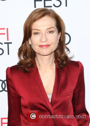 Isabelle Huppert seen alone and with Paul Verhoeven at a screening of 'Elle' presented by Audi as part of AFI...