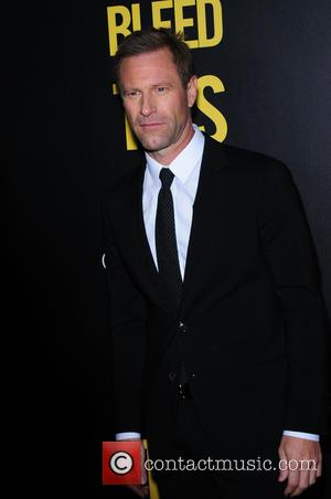 Aaron Eckhart attending the New York premiere of 'Bleed For This,' hosted by Open Road with Men's Fitness, at the...