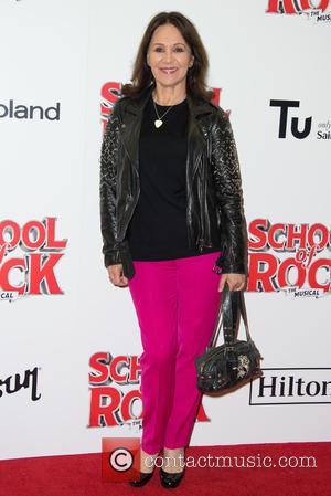Arlene Philips on the red carpet for the opening night of School of Rock held at New London Theatre -...