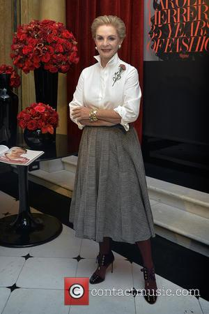 Venezuelan fashion designer Carolina Herrera presents a new book titled '35 Years of Fashion' - Madrid, Spain - Tuesday 15th...