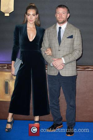 Guy Ritchie and Jacqui Ainsley seen at the UK Premiere of Fantastic Beasts And Where To Find Them held at...