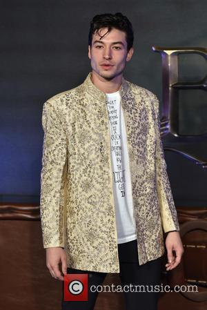 Ezra Miller seen at the UK Premiere of Fantastic Beasts And Where To Find Them held at Cineworld Leicester Square,...