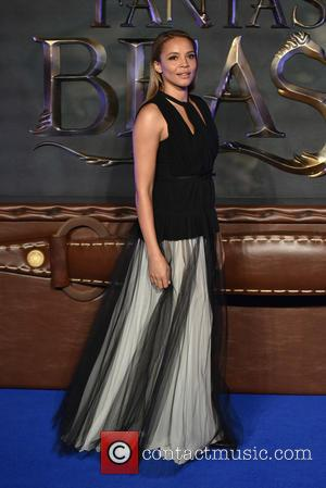 Carmen Ejogo seen at the UK Premiere of Fantastic Beasts And Where To Find Them held at Cineworld Leicester Square,...
