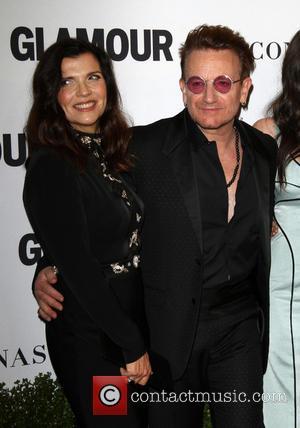 Bono and Wife Alison Hewson