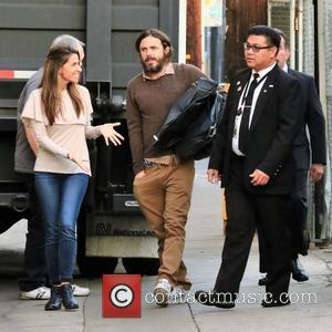 Casey Affleck arrives at the ABC studios for Jimmy Kimmel Live! - Hollywood, California, United States - Tuesday 15th November...
