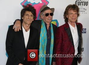 Mick Jagger, Keith Richards, Ronnie Wood and Charlie Watts